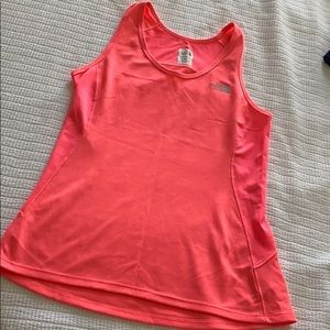 North Face Pink Work Out Top
